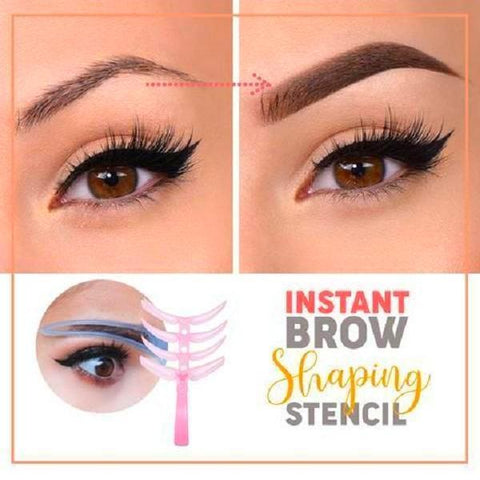 Instant Brow Shaping Stencil 4 Pieces/Set TopViralPick