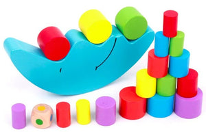 Moon Equilibrium & Color Learning Toy