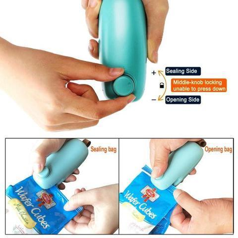 2 in 1 Mini Heat Sealing Machine ( Buy 2 Get Extra 10% Off ) TopViralPick