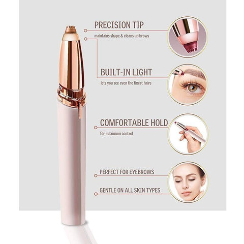 Painless and Flawless Portable Precision Eyebrow Epilator ( Buy 2 Get Extra 10% Off ) TopViralPick