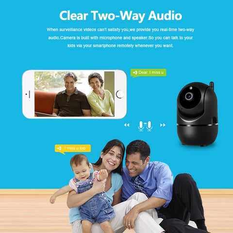 Mega 1080P HD Smart Security Camera ( Buy 2 Get Extra 10% Off )