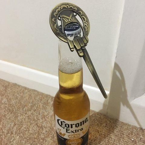 Game Of Thrones The Hand Of The KING Metal Bottle Opener ( Buy 2 Get Extra 10% Off ) TopViralPick