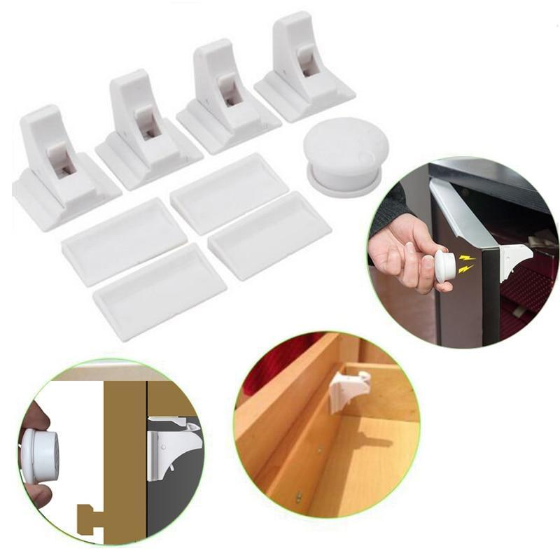 No-Drill Safety Magnetic Cabinet Locks ( Buy 2 Get Extra 10% Off ) TopViralPick
