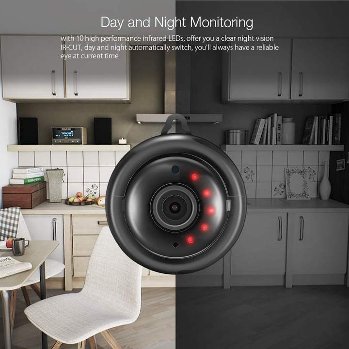 1080P HD Mini Wifi Camera ( Buy 2 Get Extra 10% Off ) TopViralPick US Plug