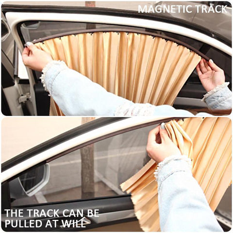 Image of Car Magnetic Sunshade ( Buy 2 Get Extra 10% Off ) TopViralPick