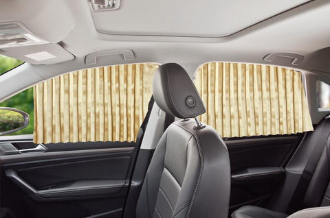 Car Magnetic Sunshade ( Buy 2 Get Extra 10% Off ) TopViralPick FRONT (2 Pcs) GOLD