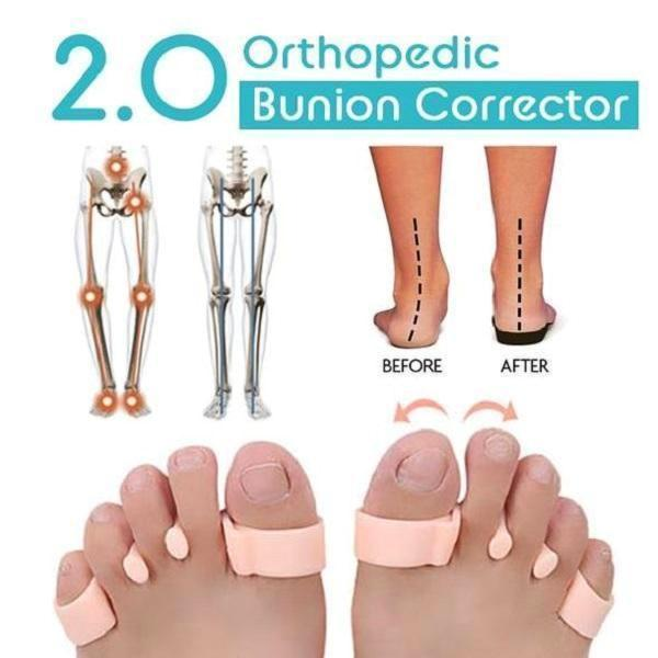 Orthopedic Bunion Corrector 2.0 - 1 Pair/Set TopViralPick