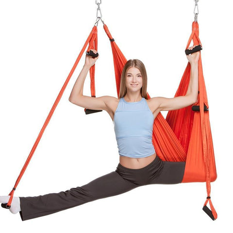 Image of Aerial Yoga Swing ( Buy 2 Get Extra 10% Off ) TopViralPick Orange