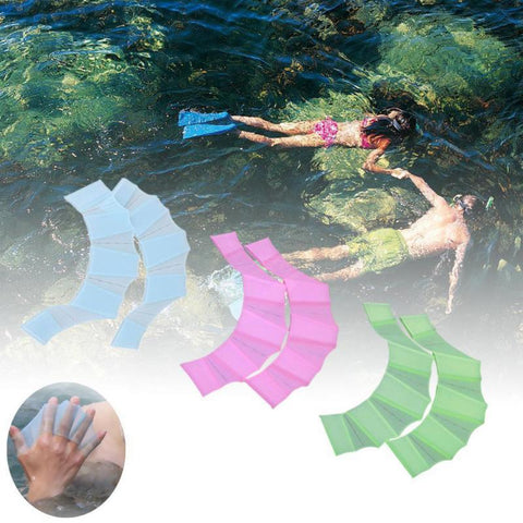 Image of Hydrodynamic Swimming Gloves ( Buy 2 Get Extra 10% Off )