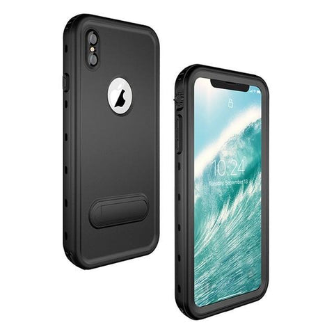 Military Grade Water Proof IPHONE Slim Case ( Buy 2 Get Extra 10% Off ) TopViralPick black for iPhone X