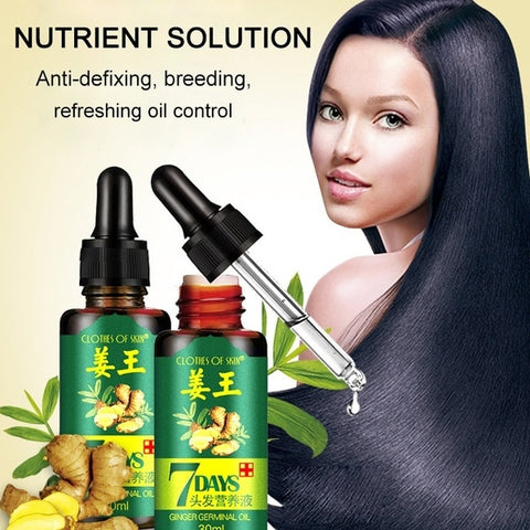 Image of ReGrow Ginger Germinal Hair Growth Serum - For Men And Women