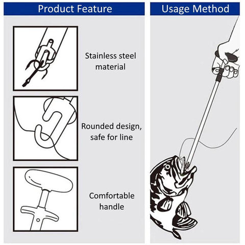 Image of Easy Fish Hook Remover Minimizing Injuries ( Buy 2 Get Extra 10% Off ) TopViralPick