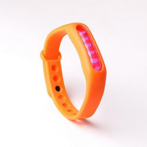 Human anti-flea, tick & mosquito bracelet ( Buy 2 Get Extra 10% Off ) TopViralPick Orange
