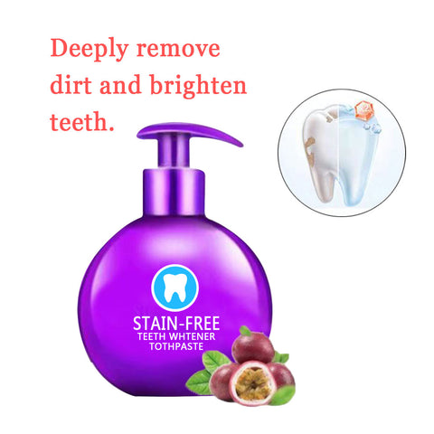 Image of Stain-Free Teeth Whitener Toothpaste ( Buy 2 Get Extra 10% Off )