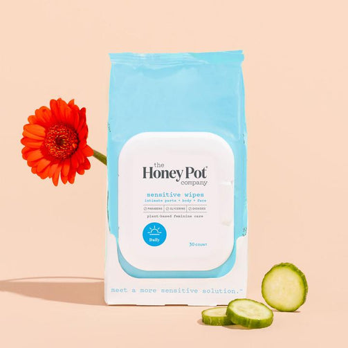 HONEY POT Sensitive Feminine Wipes - Our Ladies