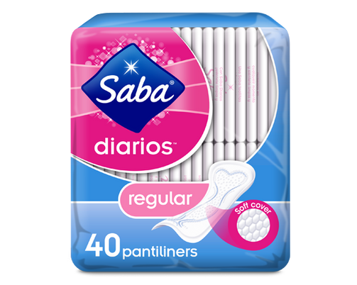 Saba Diarios Regular Pantliners 40 - Our Ladies