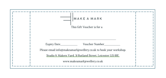 Make A Mark Jewellery Gift Voucher