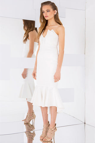 Heaven Sent Dress White