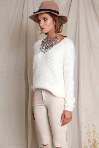 Loose Ends Fluffy Knit