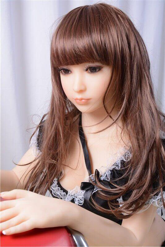 125cm 4.1ft Japanese Sex Doll With 3 Entries C Cup Adult Real Love Doll Kurumi