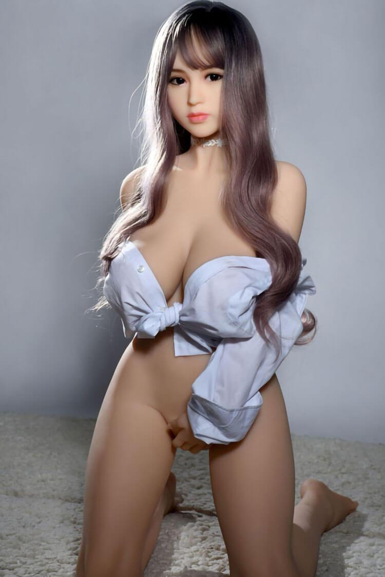 140cm 4.59ft Full Size Sex Doll With 3 Entries C Cup Japanese Love Doll Alicia