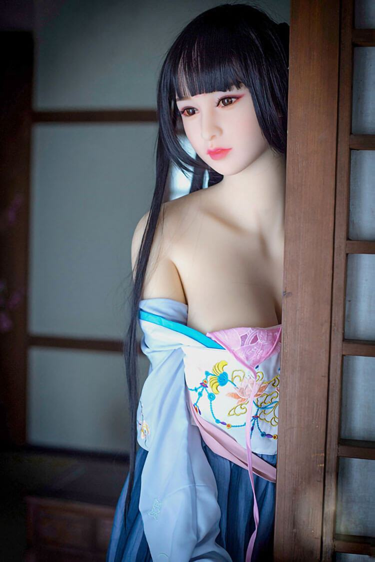 140cm 4.59ft Japanese Sex Doll With 3 Entries D Cup Adult Silicone Real Doll Noriko