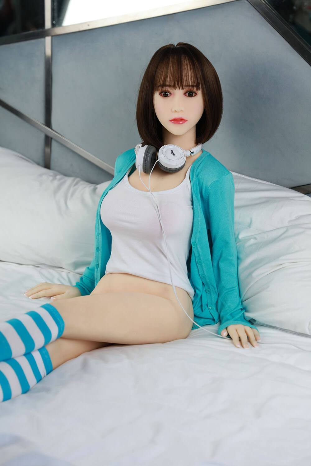 140cm 4.59ft Lifelike Sex Doll With 3 Entries C Cup Adult Real Love Doll Janey-sexdollslab.com