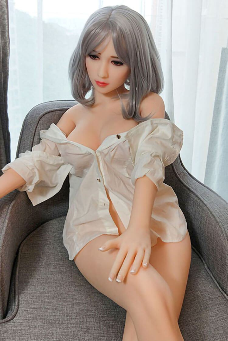 140cm 4.59ft Real Size Sex Doll With 3 Holes Oral Anal Vaginal Entries C Cup Japanese Love Doll Alfreda-sexdollslab.com