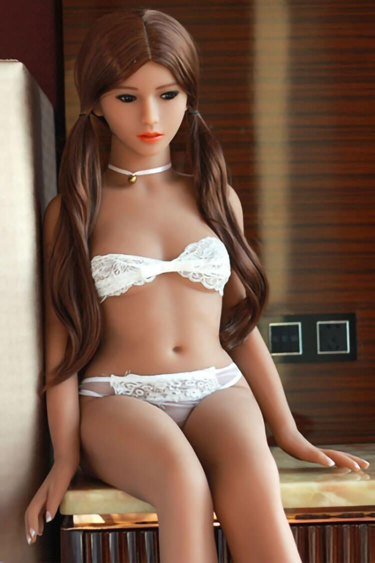 140cm 4.59ft Sex Doll With 3 Entries D Cup Adult Silicone Real Doll Moon-sexdollslab.com