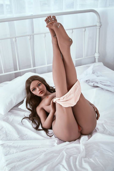 157cm 5.15ft Sex Doll With 3 Entries Steel Skeleton B Cup Lifelike Real Doll Mariana-sexdollslab.com