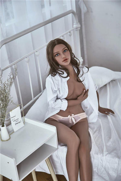 157cm 5.15ft Real Looking Sex Dolls With Steel Skeleton B Cup Lifelike Real Doll Chappell-sexdollslab.com
