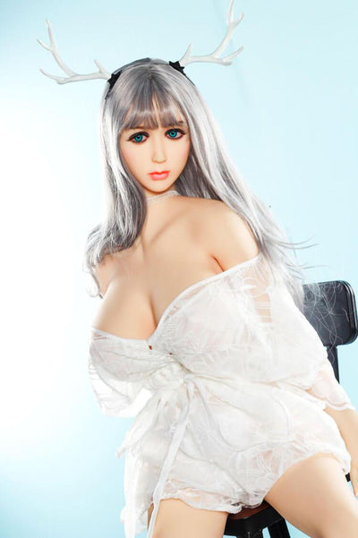 158cm 5.18ft Anime Sex Doll With 3 Entries D Cup Lifelike Real Doll For Men Sylvia-sexdollslab.com