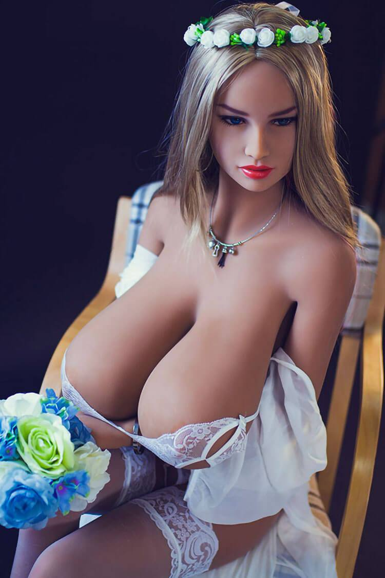 158cm 5.18ft Real Lifelike Sex Dolls With 3 Holes L Cup Huge Breast Female Real Doll Sarina-sexdollslab.com