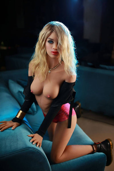 158cm 5.18ft Real Size Sex Doll With Steel Skeleton B Cup Lifelike Real Doll Bonnie-sexdollslab.com