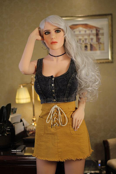 158cm 5.18ft American Sex Doll With Steel Skeleton D Cup Lifelike Real Love Doll Nancy-sexdollslab.com