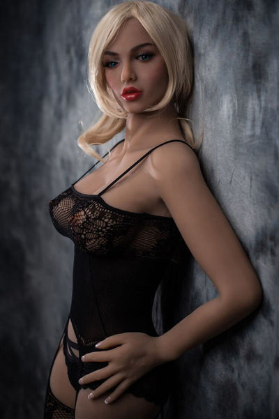 158cm 5.18ft Sex Doll With 3 Entries Steel Skeleton C Cup Lifelike Adult Real Doll Alvina-sexdollslab.com