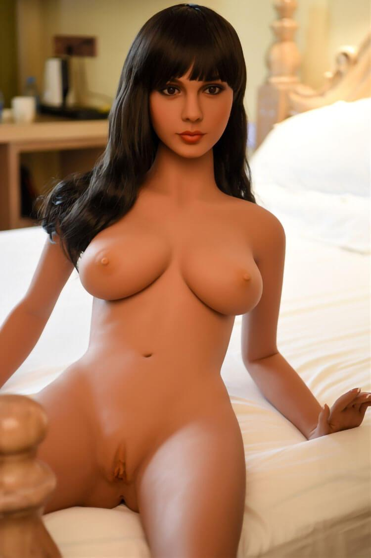 158cm 5.18ft Life Size Sex Doll With 3 Entries Steel Skeleton D Cup Lifelike Adult Real Doll Annas