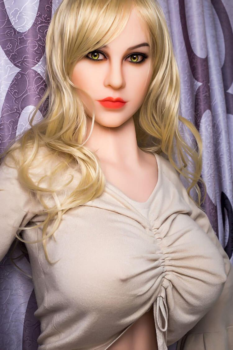 160cm Blonde Sex Doll With D Cup Adult Life Like Real Doll Antonia