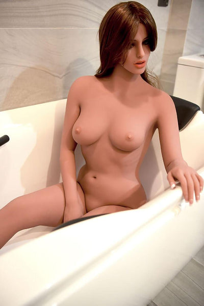 160cm Real Life Sex Doll With D Cup Beautiful Lifelike Real Doll Angelina-sexdollslab.com