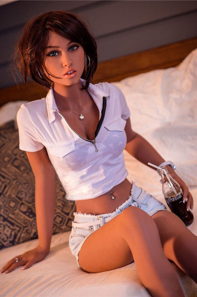 160cm 5.25ft Real Like Sex Doll With 3 Entries D Cup Life Size Real Doll Mandy-sexdollslab.com