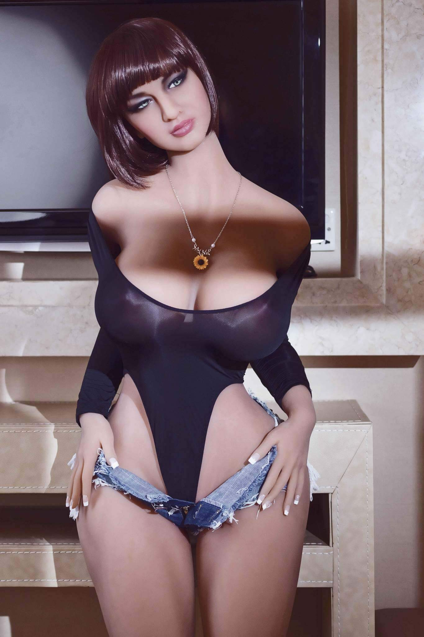 162m 5.31ft Adult Sex Doll With 3 Entries Huge Breast G Cup Lifelike Love Doll Sabina-sexdollslab.com