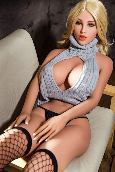 165cm 5.41ft Blonde Sex Doll With 3 Holes D Cup Real Lifelike Real Dolls Novia Mature > Erotic > Sex Toys > Sex Dolls sexdollslabs