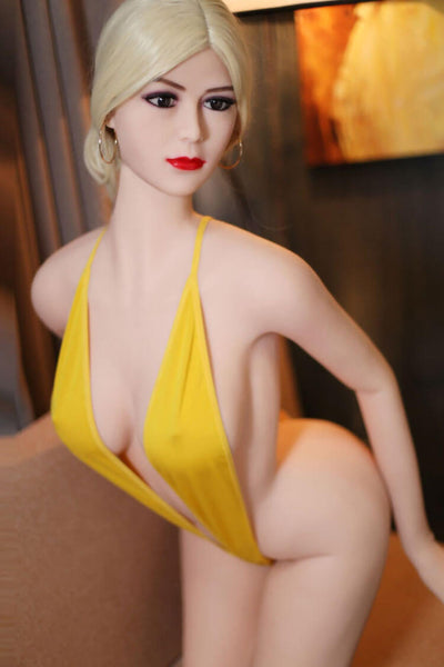 165cm 5.41ft Blonde Sex Doll With 3 Entries D Cup Realistic Lifelike Real Dolls Audrey