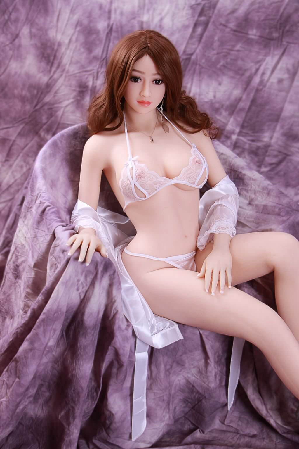 165cm 5.41ft Lifelike Love Doll for Sex With 3 Entries Adult Real Sex Doll Julia-sexdollslab.com