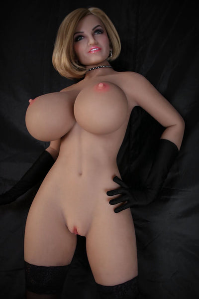 165cm 5.41ft Lifelike Sex Doll With 3 Entries Big Booms H Cup Adult Love Doll Amanda-sexdollslab.com