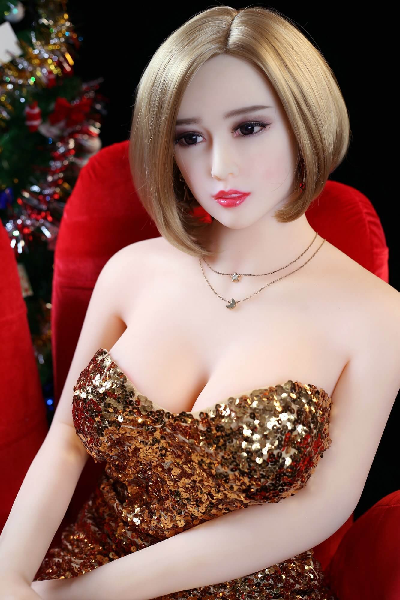 165 cm 5.41ft Lifelike Real Sex Doll With 3 Entries E Cup Adult Life Size Love Doll Chloe-sexdollslab.com
