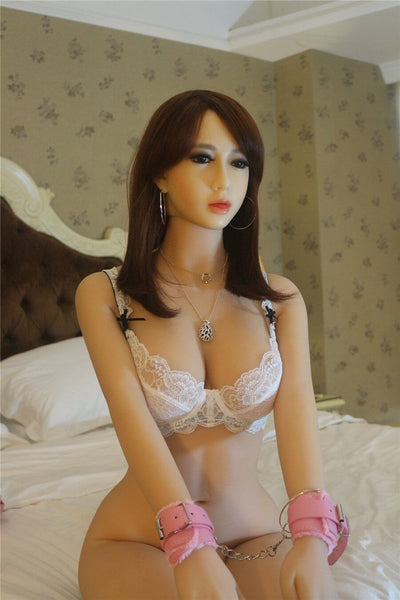 165cm 5.41ft Lifelike Sex Doll With 3 Entries E Cup Big Boobs Real Life Love Doll Anne-sexdollslab.com