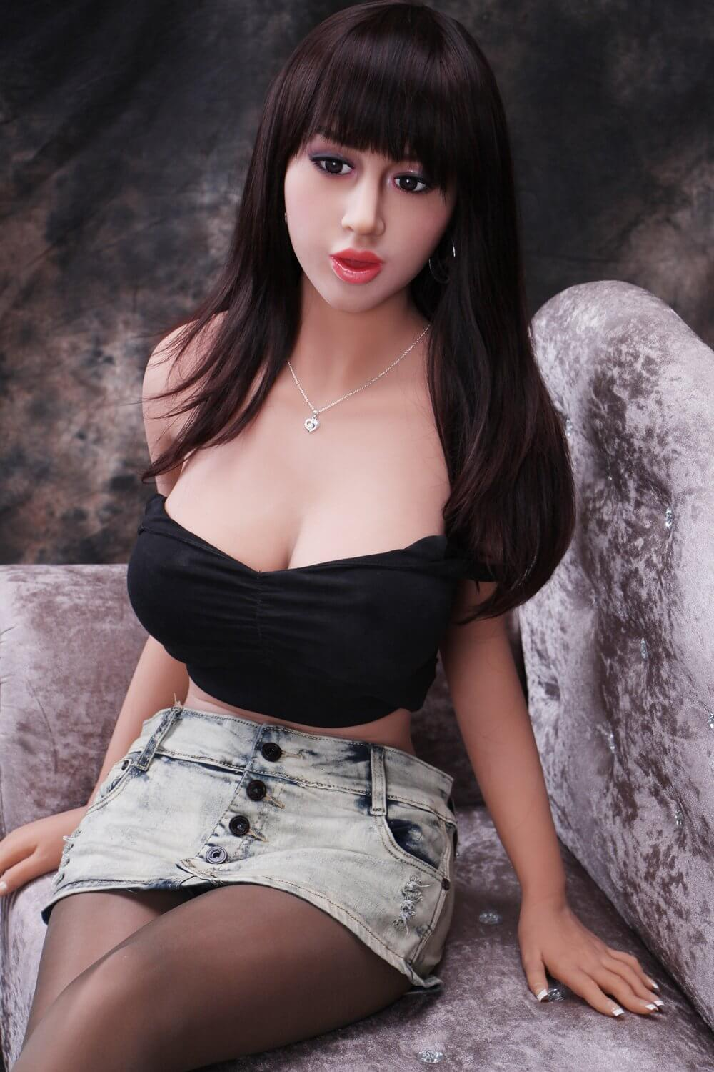 165cm 5.41ft Lifelike Sex Doll With 3 Entries G Cup Adult Real Doll Abby-sexdollslab.com