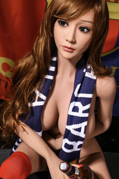 165cm 5.41ft Real Sex Doll With 3 Entries D Cup Lifelike Silicone Love Doll Grace-sexdollslab.com