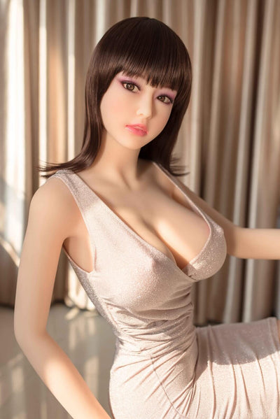 165cm 5.41ft Lifelike Sex Doll With 3 Entries E Cup Adult Realistic Love Doll Winnie-sexdollslab.com